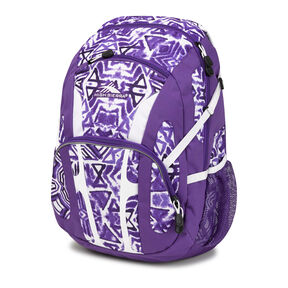 High Sierra Composite Backpack in the color Purple Shibori.