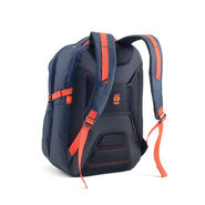 High Sierra AT6 DLX Computer Backpack in the color True Navy/Red Line.
