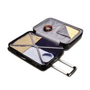 """Samsonite Carbon 2 24"""" Spinner in the color Silver."""