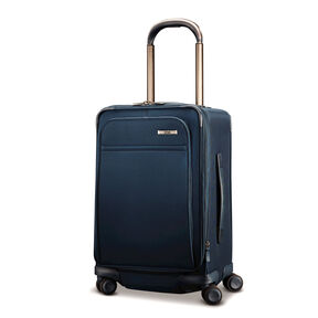 Hartmann Metropolitan Global Carry-On Expandable Spinner in the color Harbor Blue.