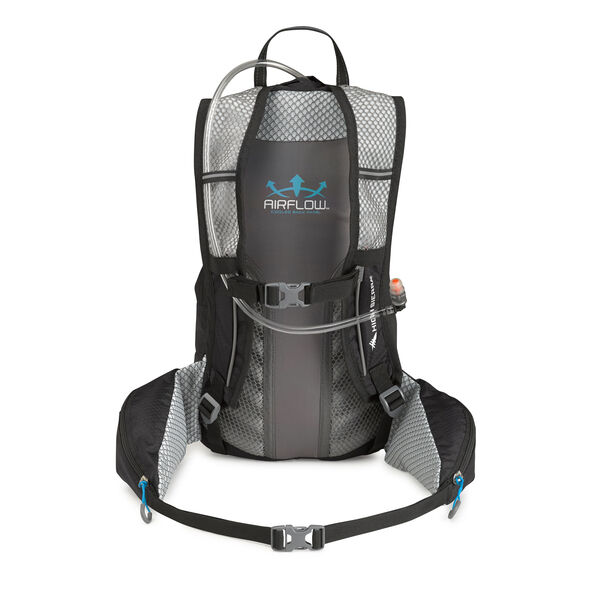 High Sierra Bream Hydration Pack in the color Black/Charcoal/Pool.