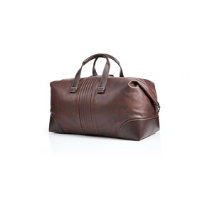 Hartmann Pembroke Duffel S in the color Dark Brown.