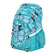 High Sierra Loop Backpack in the color Teal Shibori.