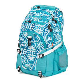 High Sierra Loop Backpack in the color Teal Shibori.