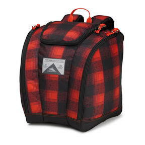 High Sierra Junior Trapezoid Boot Bag in the color Buffalo Plaid.
