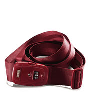 Hartmann TSA Combination Luggage Strap in the color Red.