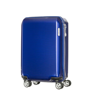 "Samsonite Arq 20"" Spinner in the color Cobalt Blue."