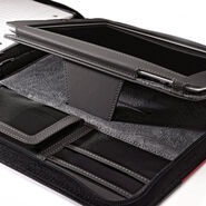 Samsonite iPad Large Zip Padfolio in the color Black.