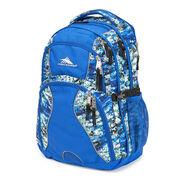 High Sierra Swerve Backpack in the color Python/Vivid Blue/Black.