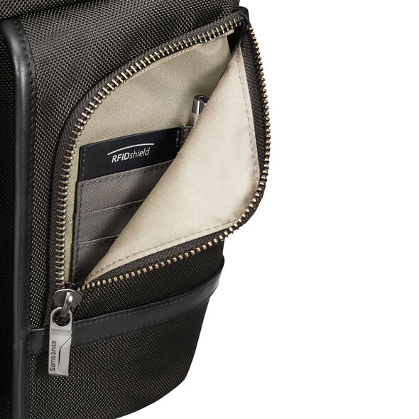 Samsonite GT Supreme Laptop Backpack 14.1 in the color Black/Black.