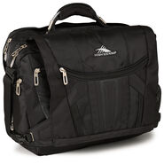 High Sierra XBT TSA Messenger in the color Black.