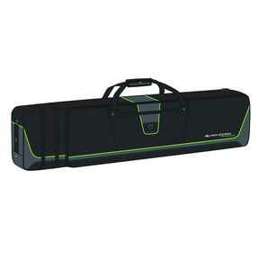 High Sierra Adjustable Wheeled Ski/Snowboard Combo in the color Black/Charcoal/Chartreuse.