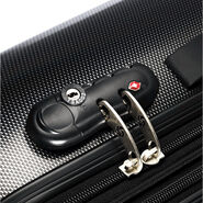"""Samsonite Carbon1 DLX 24"""" Expandable Spinner in the color Silver - Exclusive."""