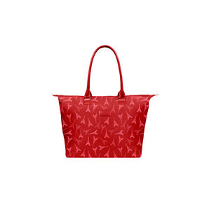 Lipault Lady Plume Tote Bag M in the color Eiffel Tower/Ruby.