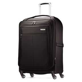 "Samsonite MIGHTlight 25"" Spinner in the color Black."