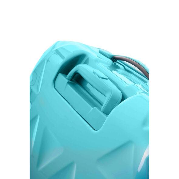 """Samsonite Novus 20"""" Spinner in the color Aquamarine."""