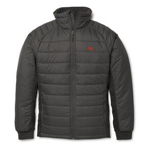 High Sierra Men's Molo Hybrid Jacket in the color Mercury.