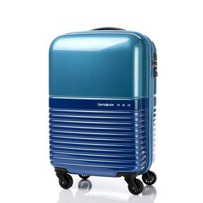 "Samsonite Red Robo 20"" Spinner in the color Blue/Light Blue."