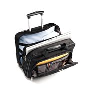 Samsonite Classic Business Wheeled Business Case in the color Black.