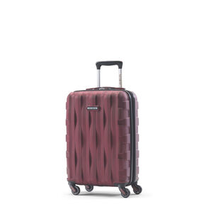 Samsonite Prestige 3D Spinner Carry-On in the color Burgundy.