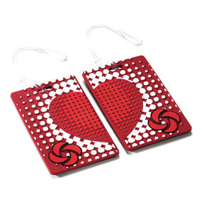 Samsonite Designer ID Tags - Pair in the color True Love.