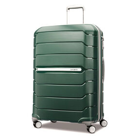 "Samsonite Freeform 28"" Spinner in the color Sage Green."