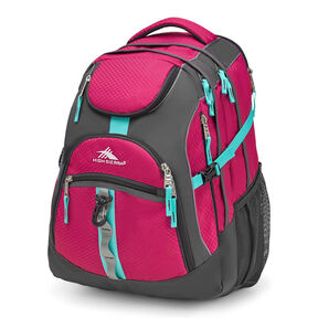 High Sierra Access Backpack in the color Razzmatazz/Mercury/Aquamarine.