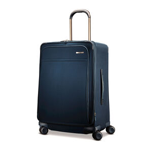 Hartmann Metropolitan Medium Journey Expandable Spinner in the color Harbor Blue.