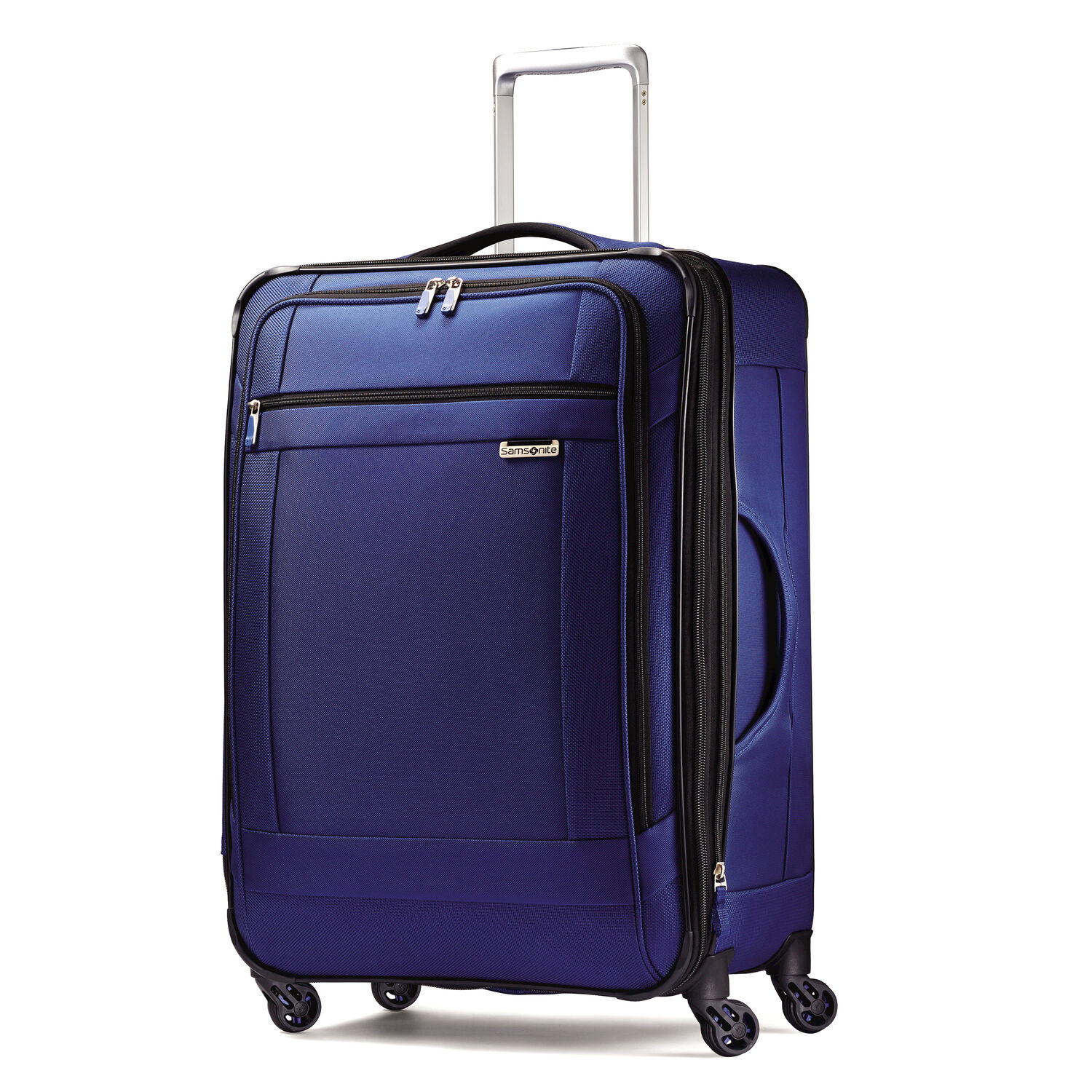 Samsonite solyte 25 quot spinner in the color true blue
