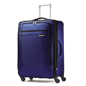 "Samsonite SoLyte 25"" Spinner in the color True Blue."