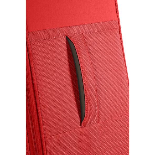 """Samsonite Uplite 24"""" Spinner in the color Red."""