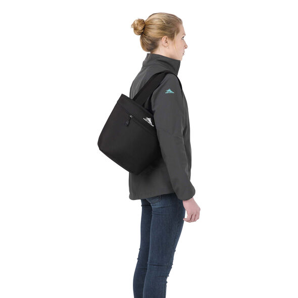 High Sierra Lunch Packs Tote in the color Black.