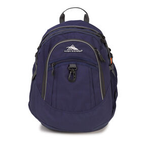 High Sierra Fat Boy Backpack in the color Navy/ Mercury.