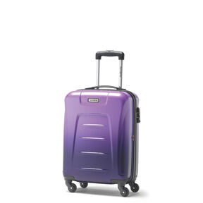 Samsonite Winfield 3 Fashion Spinner Carry-On Widebody in the color Purple Ombre.