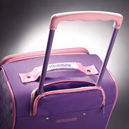 """American Tourister Disney 18"""" Softside Upright in the color Sofia The First."""