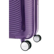 """American Tourister Curio 25"""" Spinner in the color Purple."""