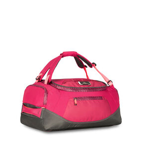 "High Sierra AT8 26"" Duffel Backpack in the color Dahilia Raven."