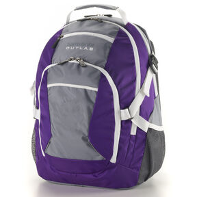 Samsonite Outlab Grouper Backpack in the color Purple/Grey.