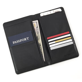 Samsonite Travel Wallet in the color Black.