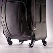 "Samsonite Hypertech Lite 20"" Spinner in the color Pewter."