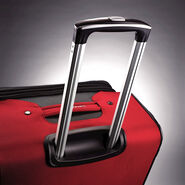 "Samsonite Aspire XLite 20"" Spinner in the color Red."