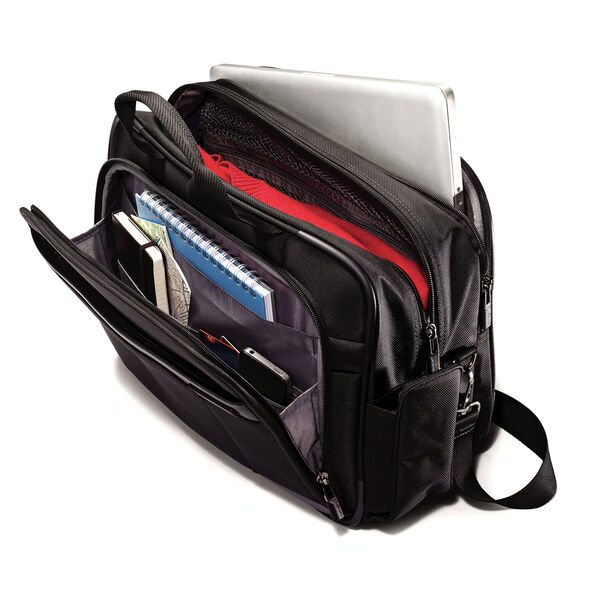 Samsonite Quadrion Boarding Bag in the color Black.