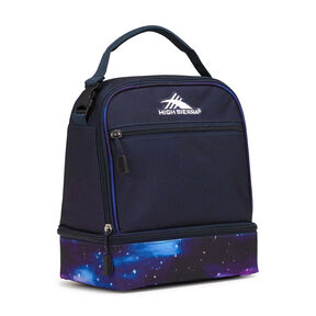 High Sierra Lunch Packs Stacked Compartment in the color Midnight Blue/Cosmos.
