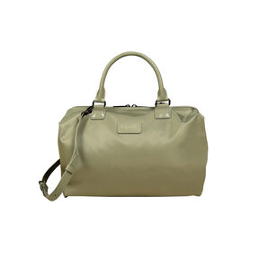 Lipault Lady Plume Bowling Bag (M) in the color Almond Green.