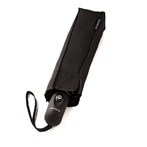 Samsonite Windguard Auto Open/Close Umbrella in the color Black.