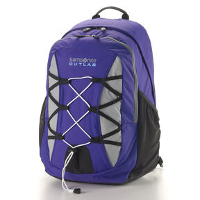 Samsonite Outlab Crossfire Backpack in the color Purple/Grey.