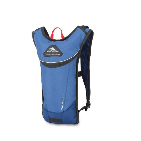 High Sierra Tokopah 2L Hydration Pack in the color Pilot/Atlantic/Crimson.