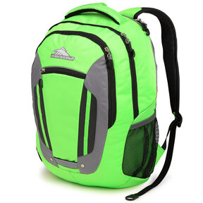 High Sierra Modi Backpack in the color Lime/Charcoal/Black.