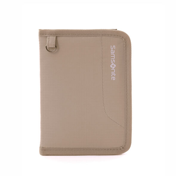 Samsonite Securi-3 Passport Cover in the color Khaki.