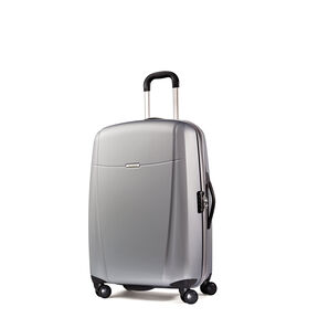 "Samsonite Hyperflex 19"" Spinner in the color Silver."